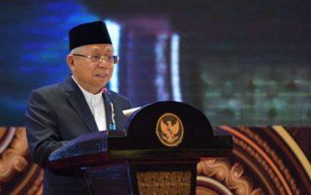 Wapres Maruf Amin dalam Musyawarah Nasional V Asosiasi DPRD Kota Seluruh Indonesia. ©2020 Liputan6.com/Ditto Radityo