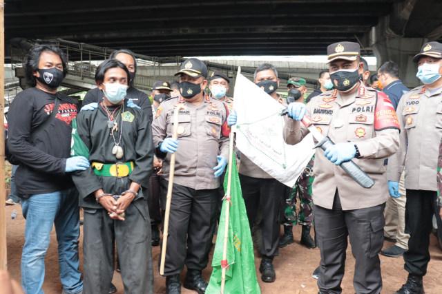 Massa Aksi PA 212 Bawa Badik Ditangkap di Jakut, Alasannya Perangkat Seragam