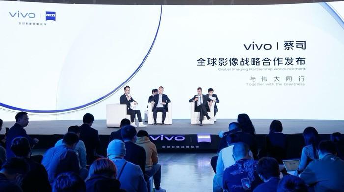 Vivo Kerja Sama dengan ZEISS Kembangkan Teknologi Mobile Imaging